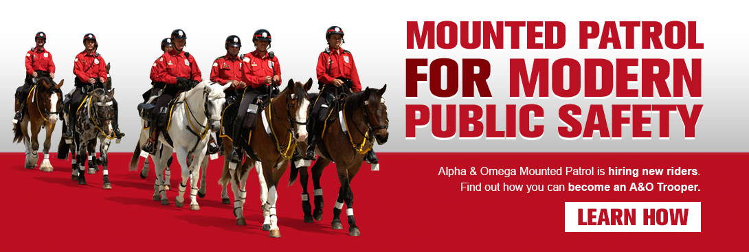 Mounted Patrol For Modern Public Safety