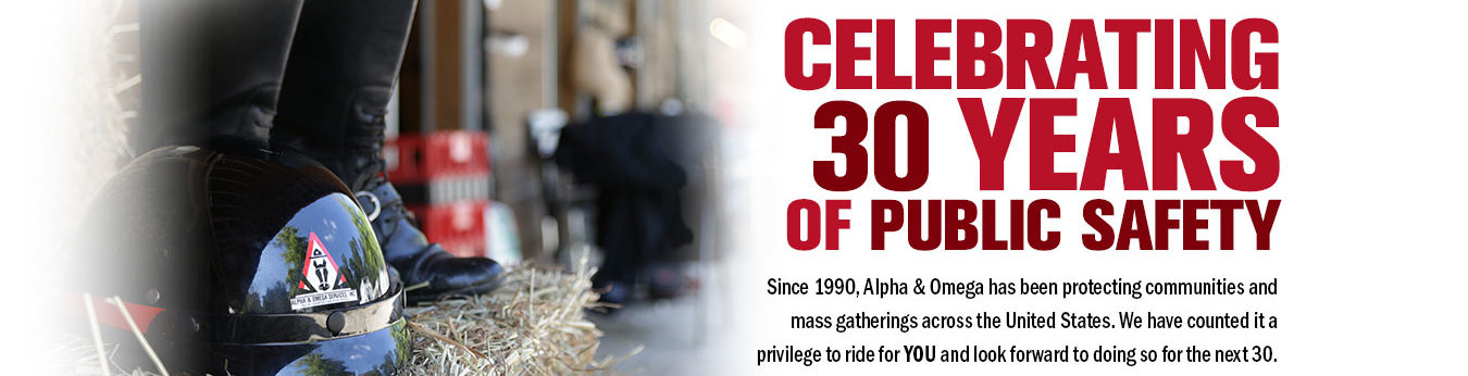 Alpha & Omega Mounted Patrol 30th Anniversary